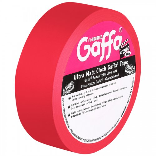 Advance AT200 Gaffa Tape matt / rot