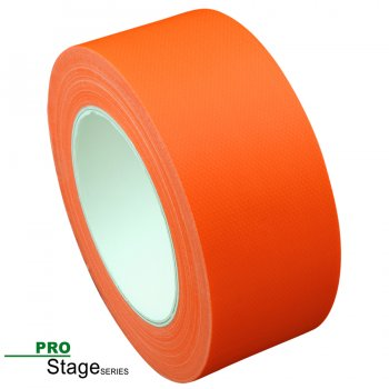 ProStage ST 422  Gaffa Tape Neon fluoro-orange 50mm