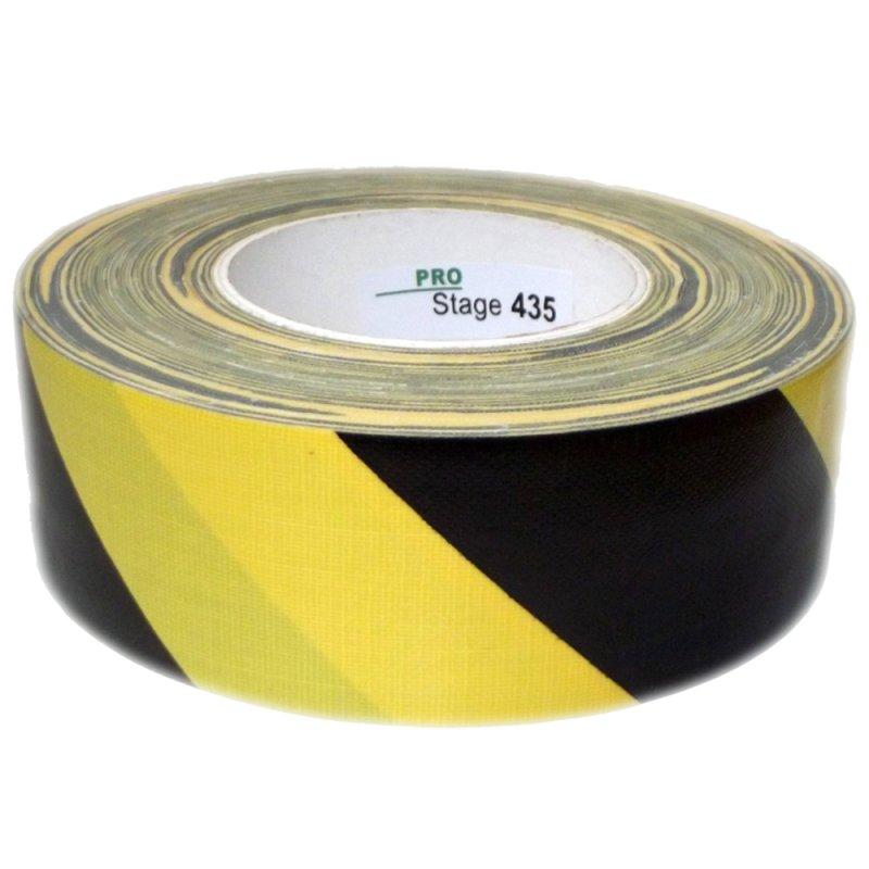 Sehr Gut ProStage ST 439 Warnband gelb-schwarz 75mm breit, 6,90 € NM74