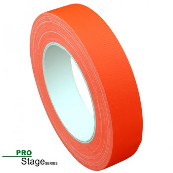 ProStage ST 422  Gaffa Tape Neon fluoro-orange 25mm