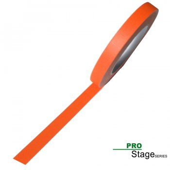 ProStage ST 422  Gaffa Tape Neon fluoro-orange 15mm