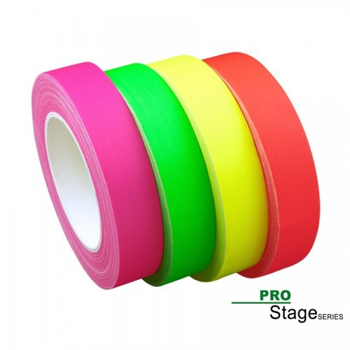 ProStage ST 422  Gaffa Tape Neon fluoro-orange 38mm